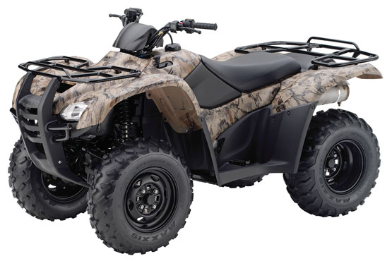 2012 Honda FourTrax Rancher 4x4 with Electric Power Steering TRX420FPM