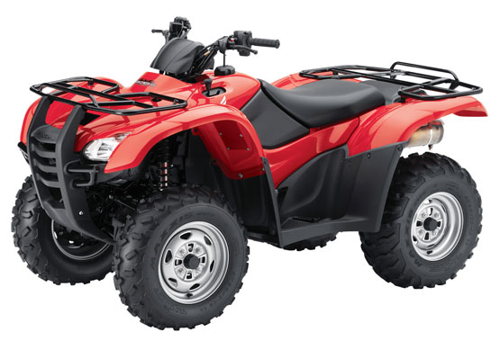 2012 Honda FourTrax Rancher AT with Electric Power Steering TRX420FPA