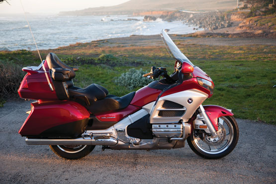 2012 Honda Gold Wing GL1800 Airbag