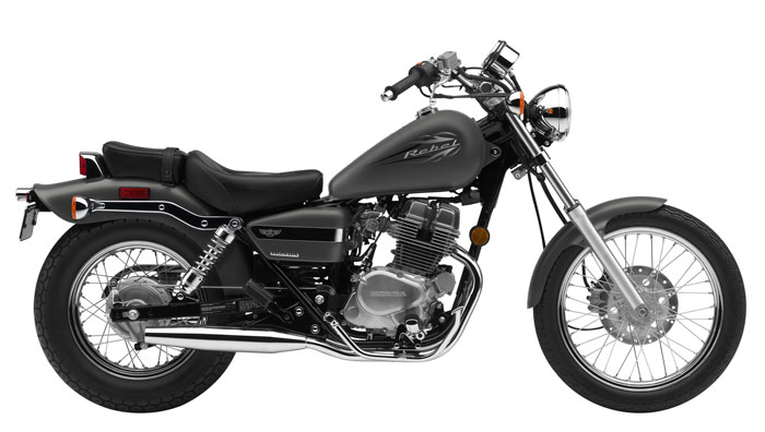 2012 Honda Rebel 250 CMX250C