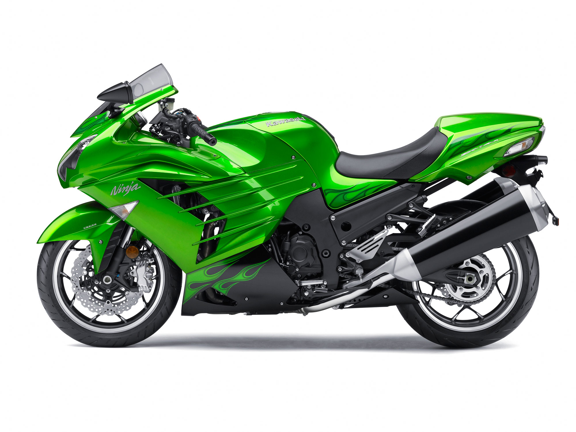 2012 Kawasaki Motorcycle Models