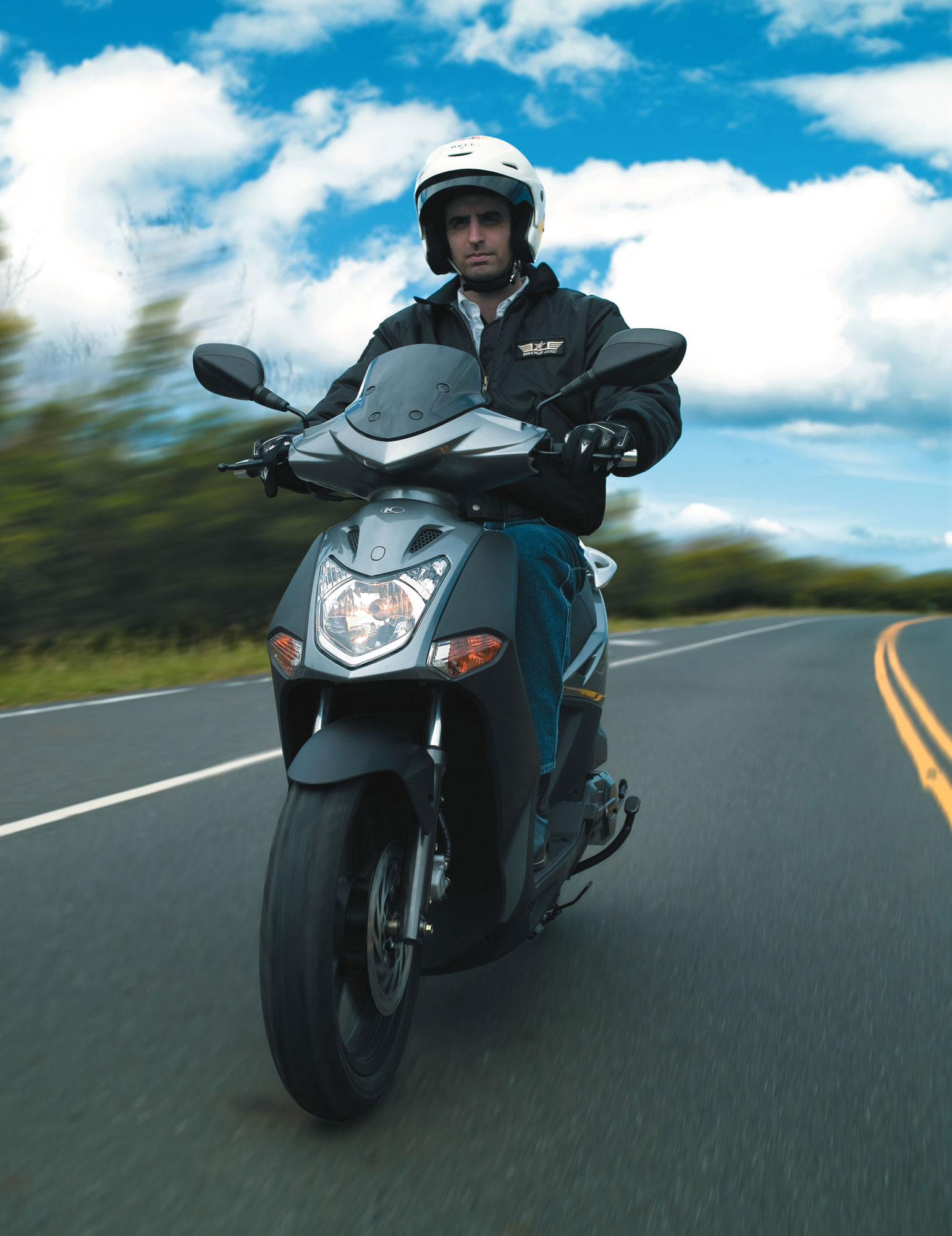2012 Kymco Agility City 50 4T Motorcycle Insurance Information
