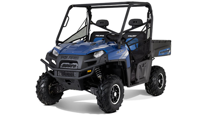 2012 Polaris Ranger XP 800 Boardwalk Blue LE