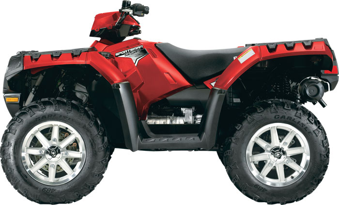 2012 Polaris Sportsman 550 EPS