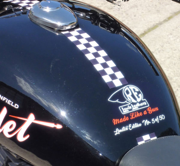 2012 Royal Enfield Bullet Classic C5 500 EFI Lewis Leathers Classic Limited Edition