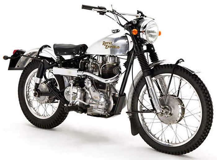 2013 Royal Enfield Scrambler / Trials Mod Kit