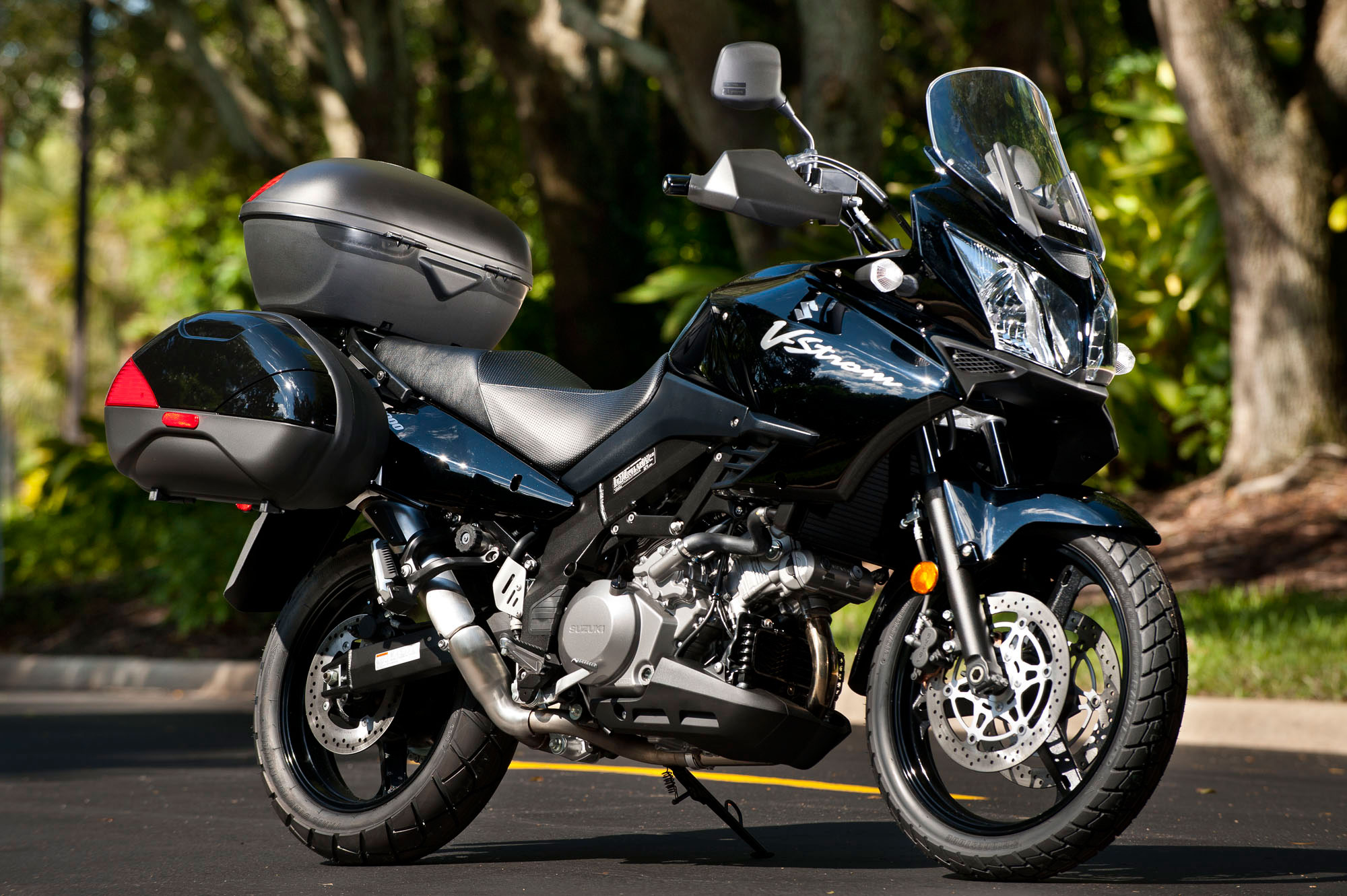 2012 suzuki v strom 1000 adventure review. Black Bedroom Furniture Sets. Home Design Ideas