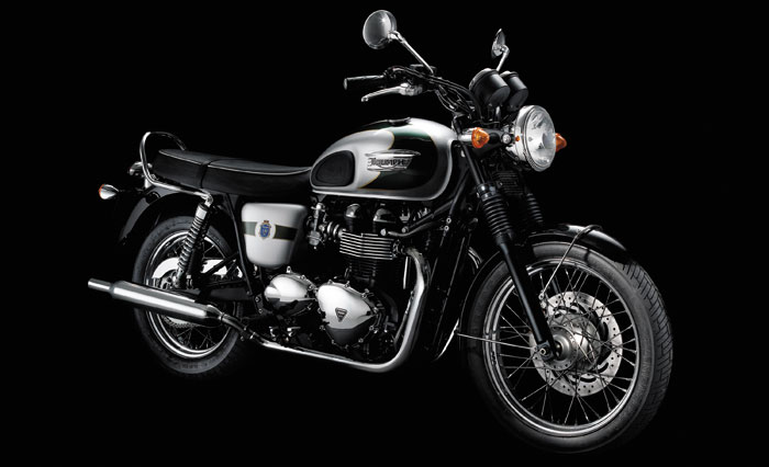 2012 Triumph Bonneville T100 110th Anniversary Limited Edition