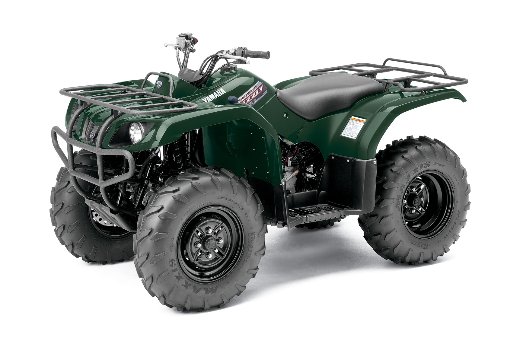 2012 yamaha grizzly 350 auto 4x4 review. Black Bedroom Furniture Sets. Home Design Ideas