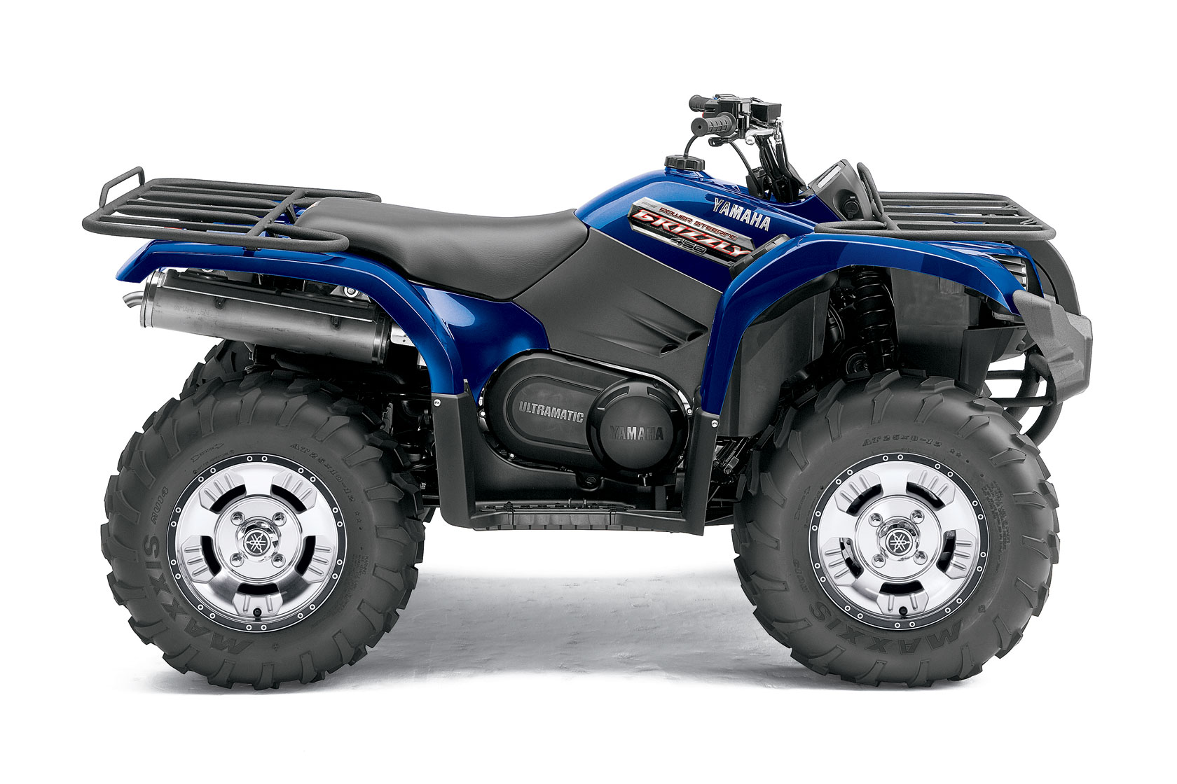 2012 yamaha grizzly 450 auto 4x4 eps review. Black Bedroom Furniture Sets. Home Design Ideas