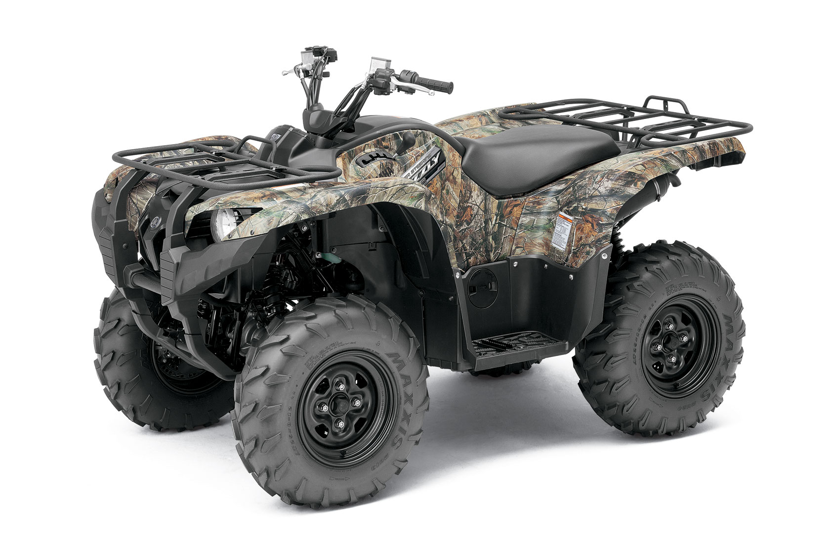 2012 Yamaha Grizzly 550 FI Auto 4x4 EPS Review