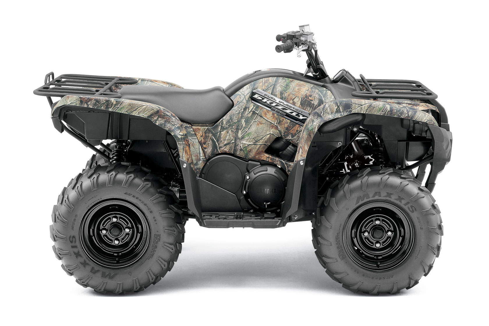 2012 Yamaha Grizzly 550 FI Auto 4x4 Review