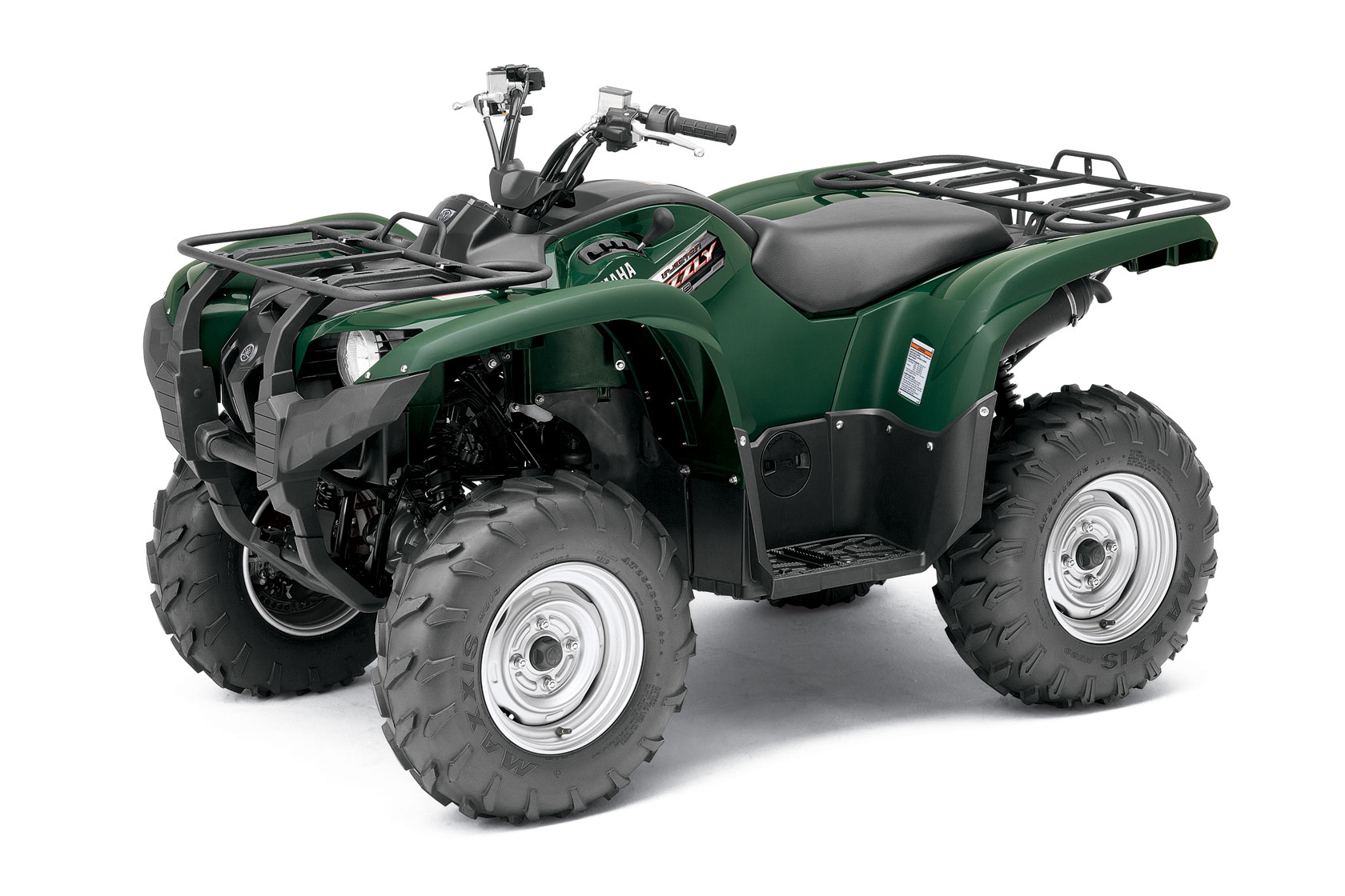 2012 yamaha grizzly 550 review