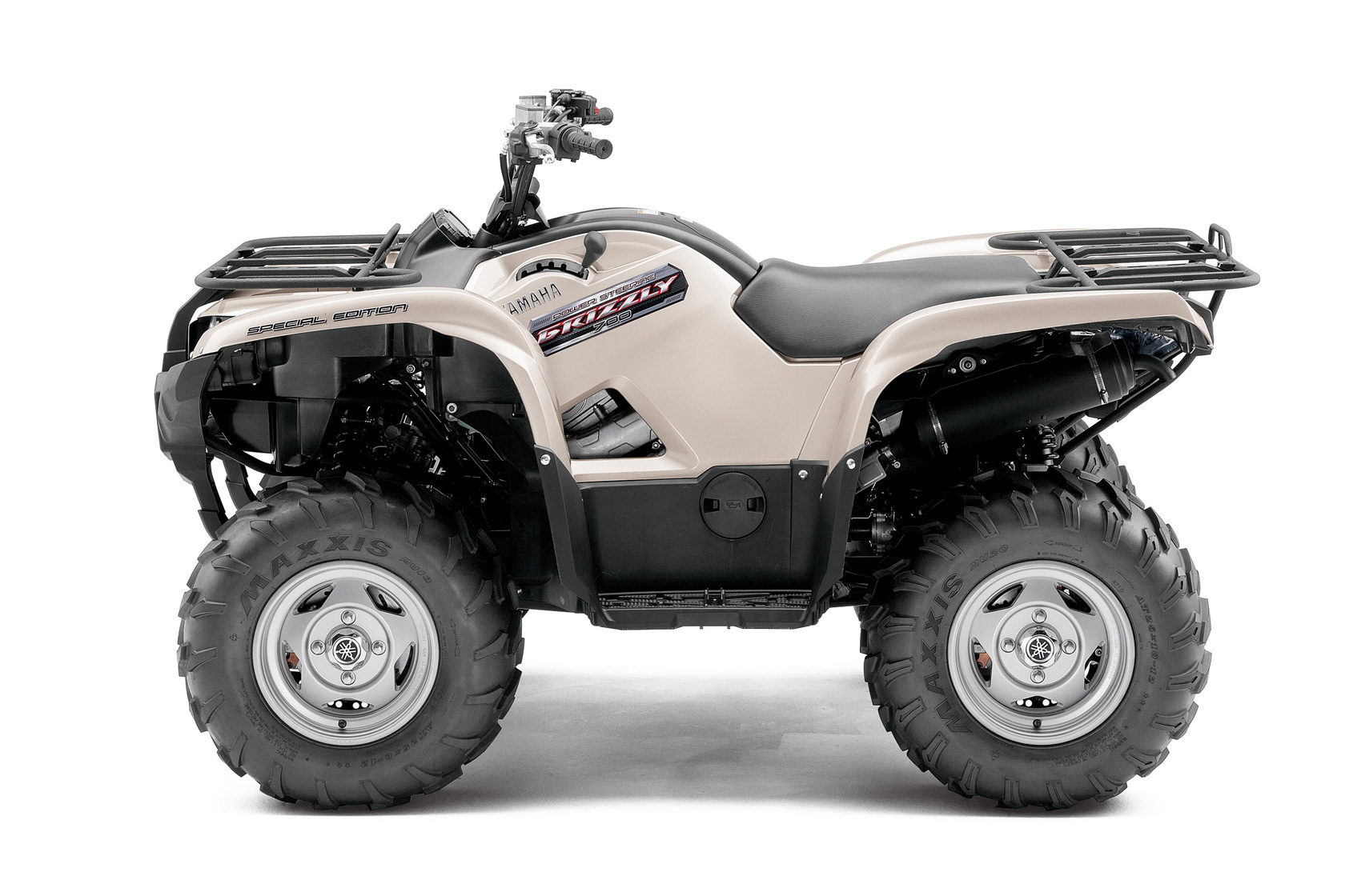 2012 yamaha grizzly 700 fi auto 4x4 eps special edition review. Black Bedroom Furniture Sets. Home Design Ideas