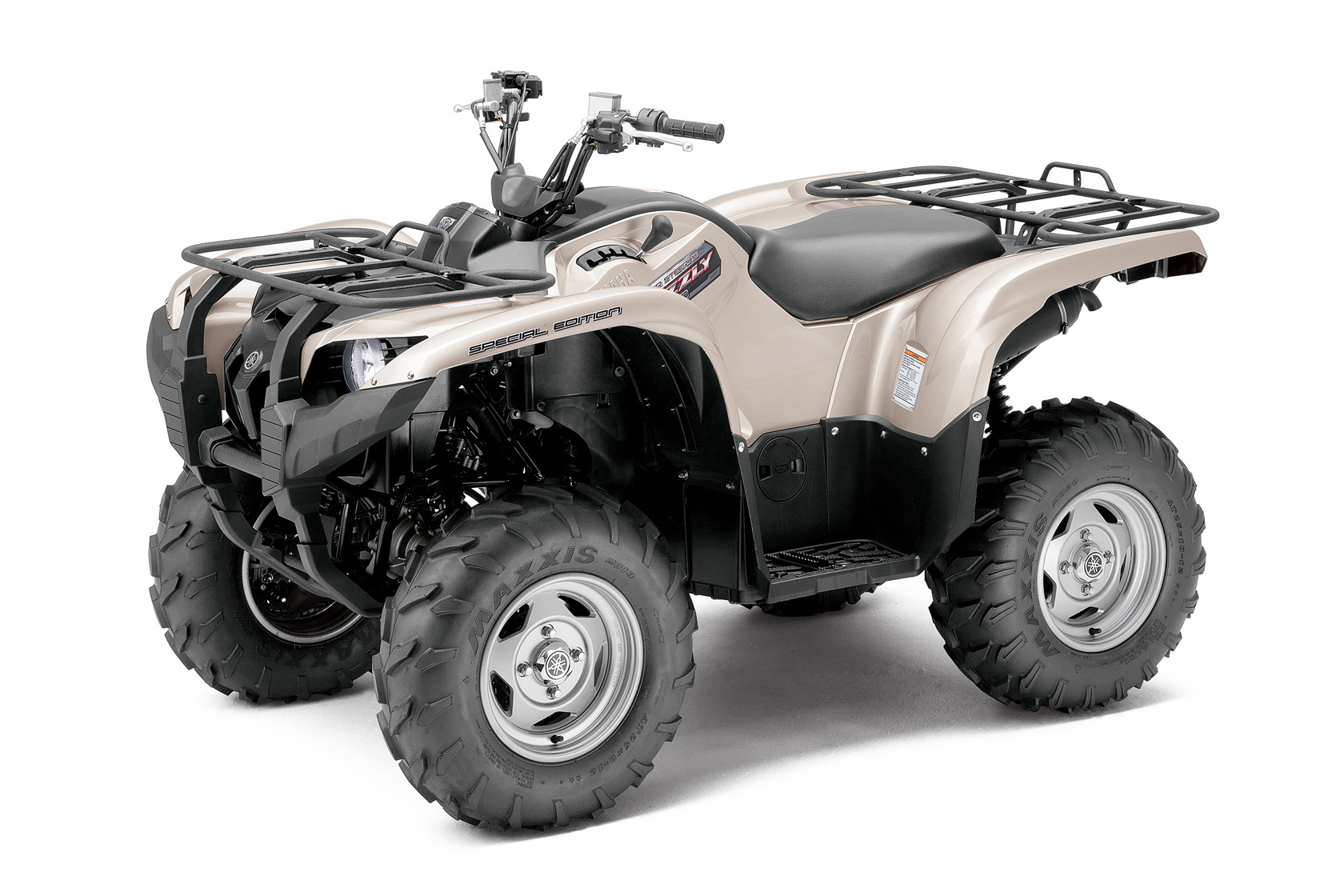 2012 yamaha grizzly 700 fi auto 4x4 eps special edition review for Yamaha grizzly atv