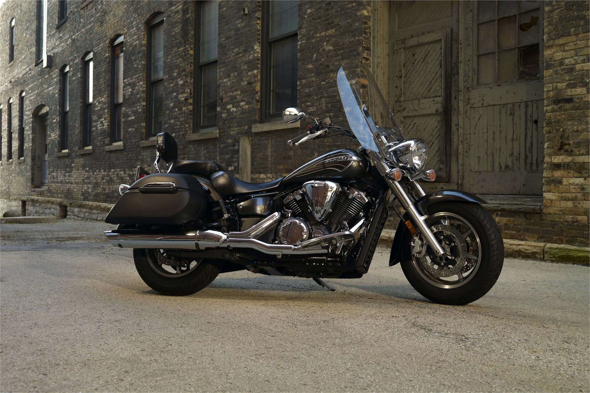2012 Yamaha V-Star 1300 Tourer Review