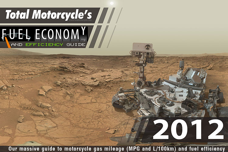 2012 Motorcycle MPG Fuel Economy Guide