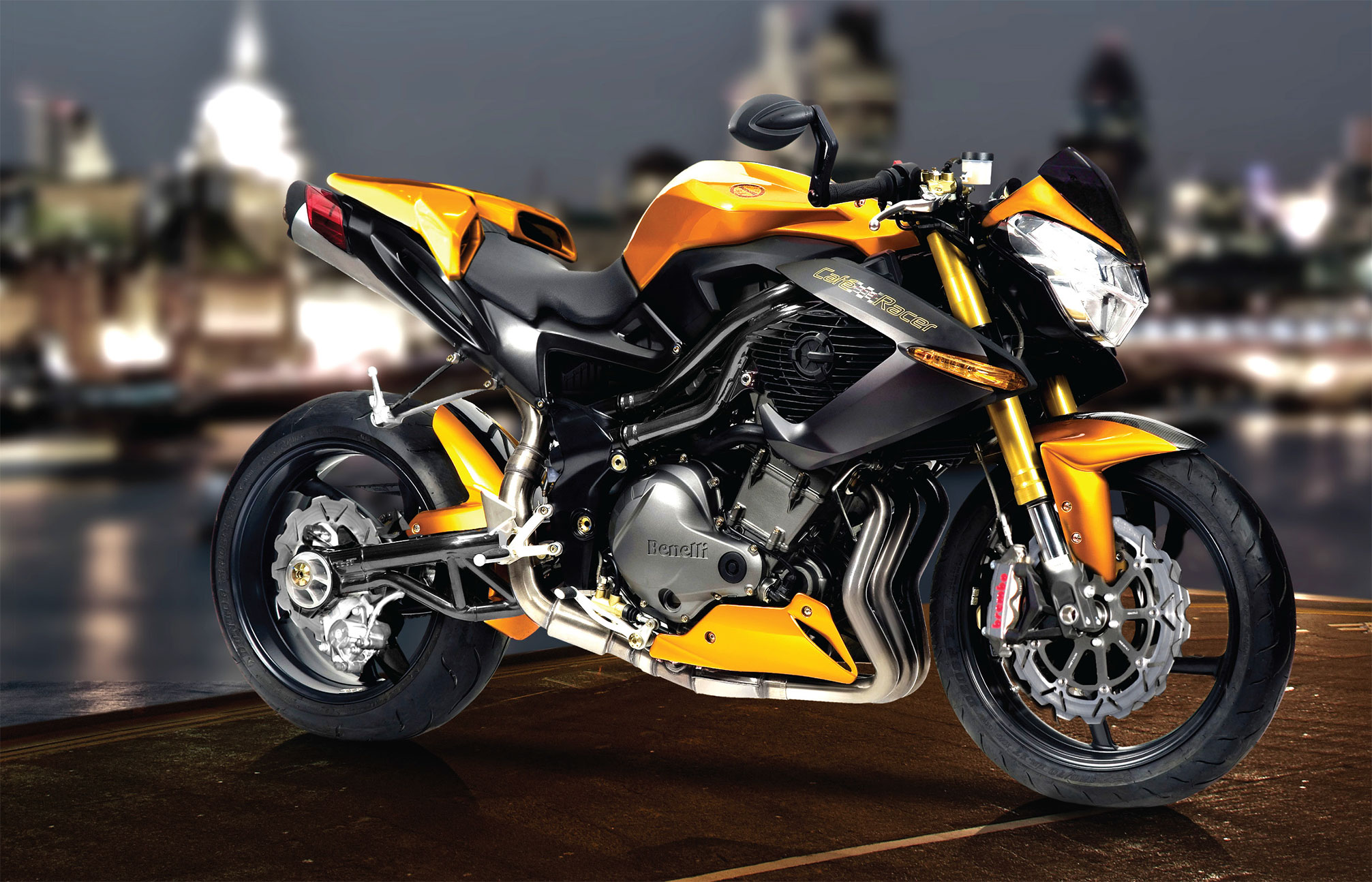 2013 Benelli Cafe Racer 1130 Review