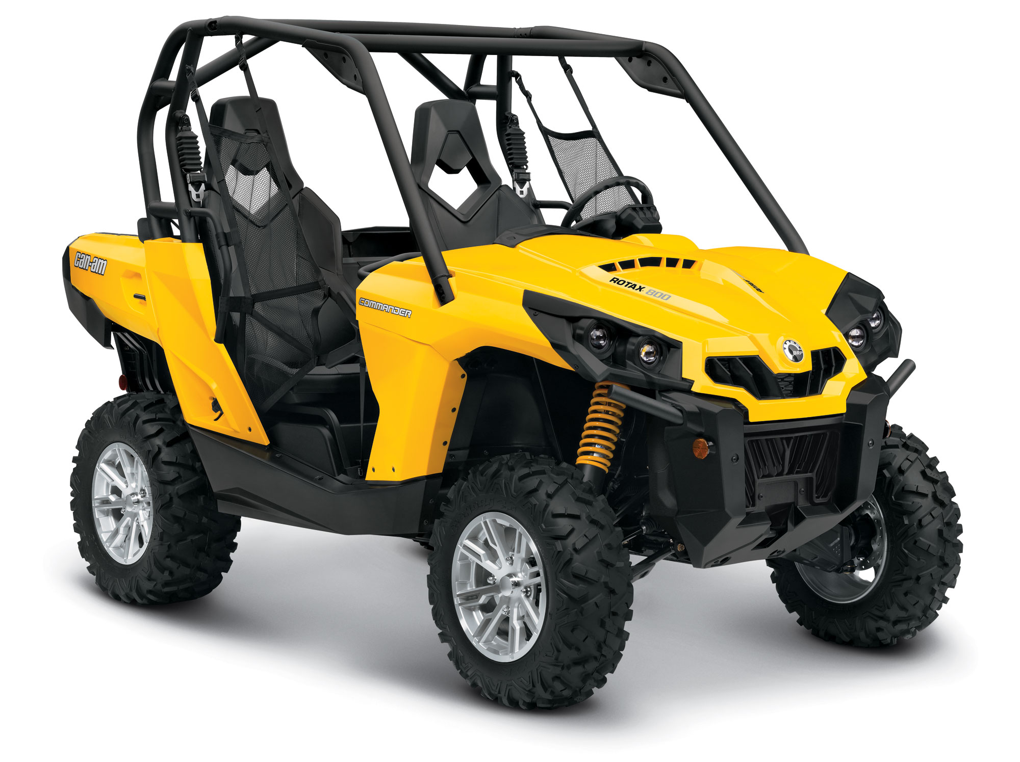 2013 Can-Am Commander 800 DPS Review