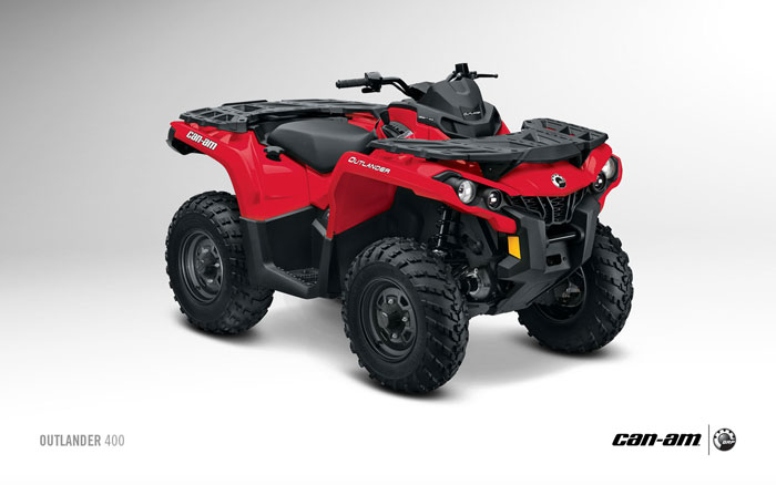 2013 Can-Am Outlander 400