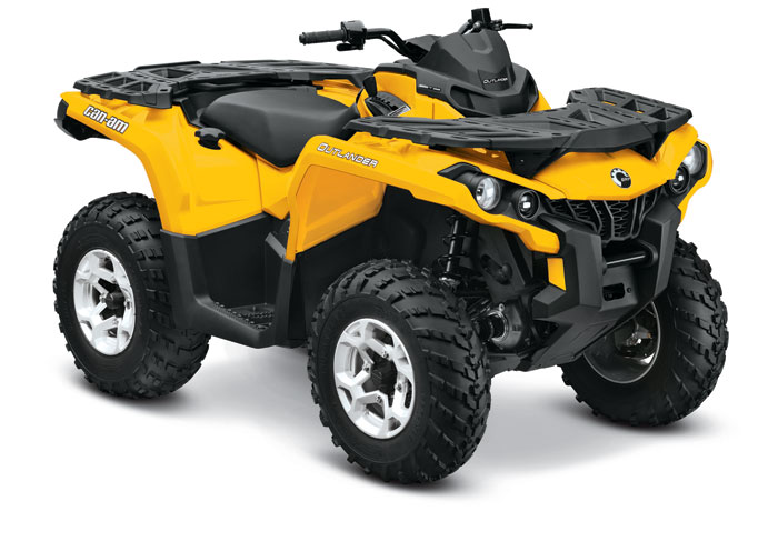 2013 Can-Am Outlander DPS 650