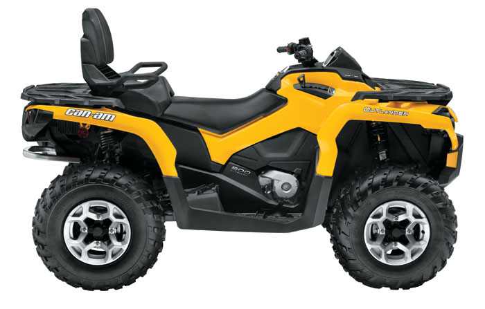 2013 Can-Am Outlander MAX DPS 500