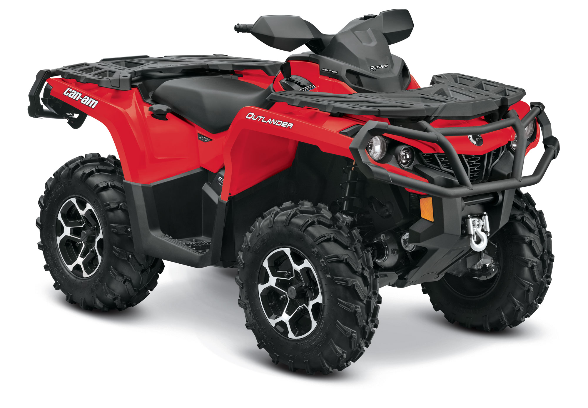 2013 Can-Am Outlander XT 500 Review