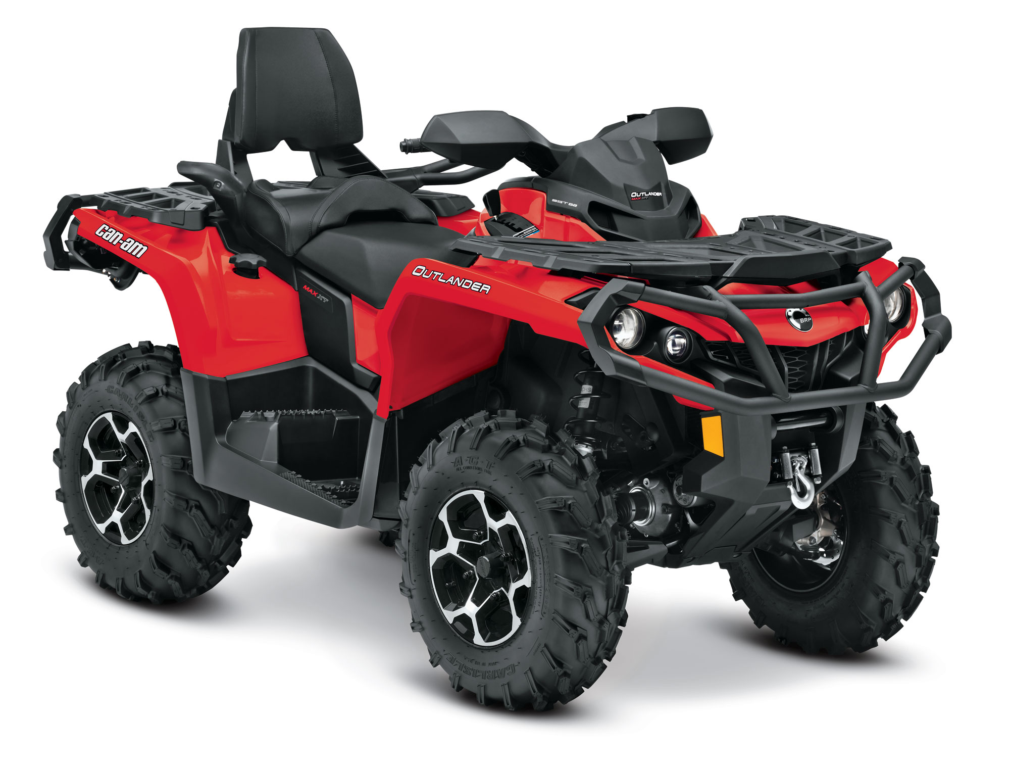 2013 Can-Am Outlander MAX XT 500 Review