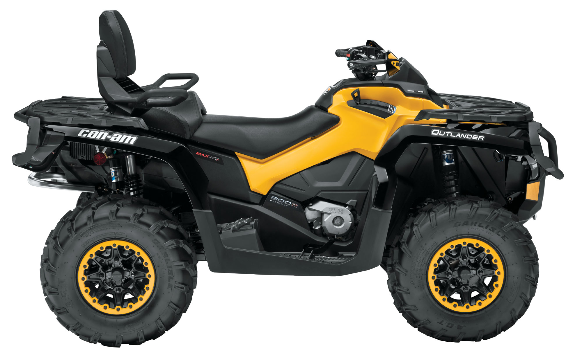 2013 Can-Am Outlander MAX XT-P 800R Review