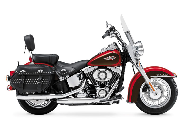2013 Harley-Davidson FLSTC Heritage Softail Classic Peace Officer