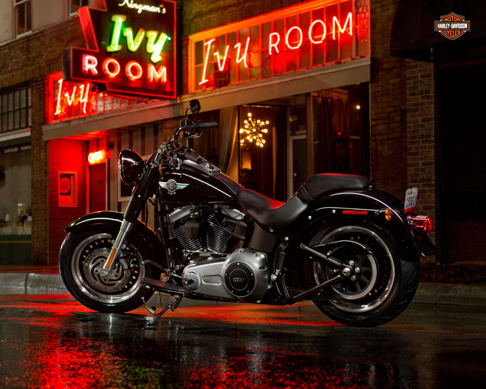 2013 Harley-Davidson FLSTFB Softail Fat Boy Special 110th Anniversary