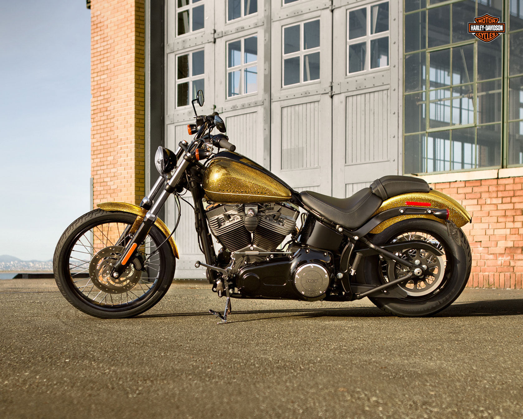 2013 Harley-Davidson FXS Blackline Review