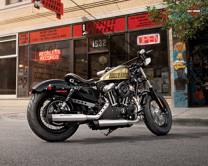 2013 Harley-Davidson XL1200X Forty-Eight 48