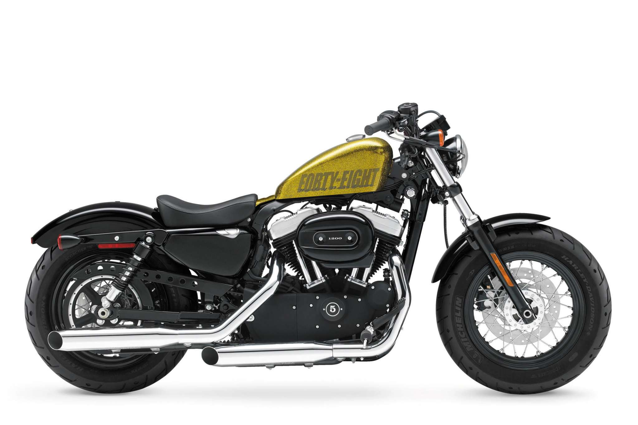 2013 Harley-Davidson XL1200X Forty-Eight 48 Review