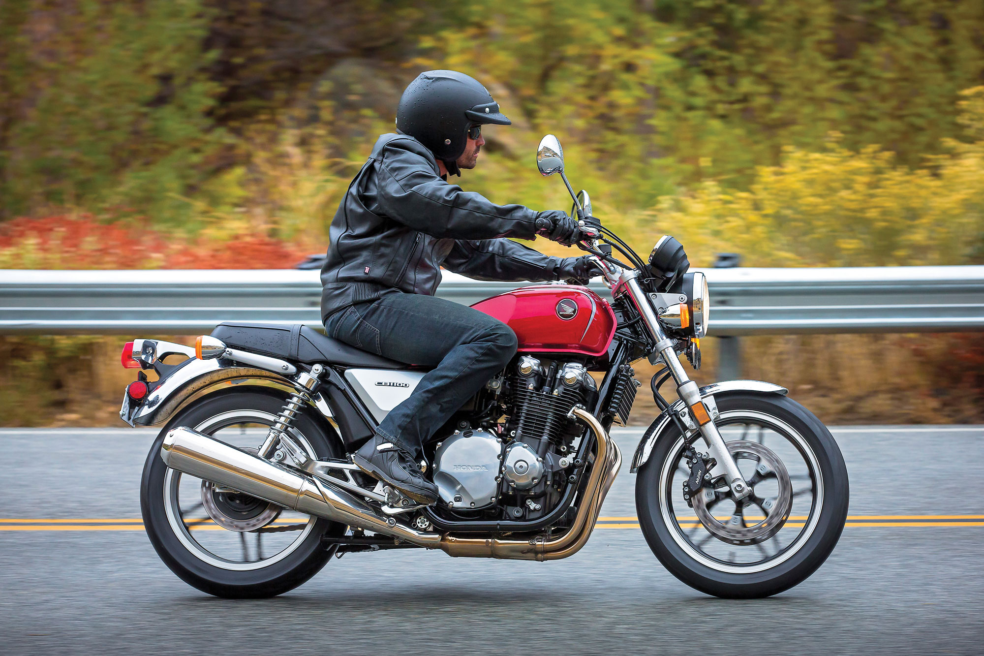 Honda Motorcycles Calgary >> 2013 Honda CB1100 ABS Review