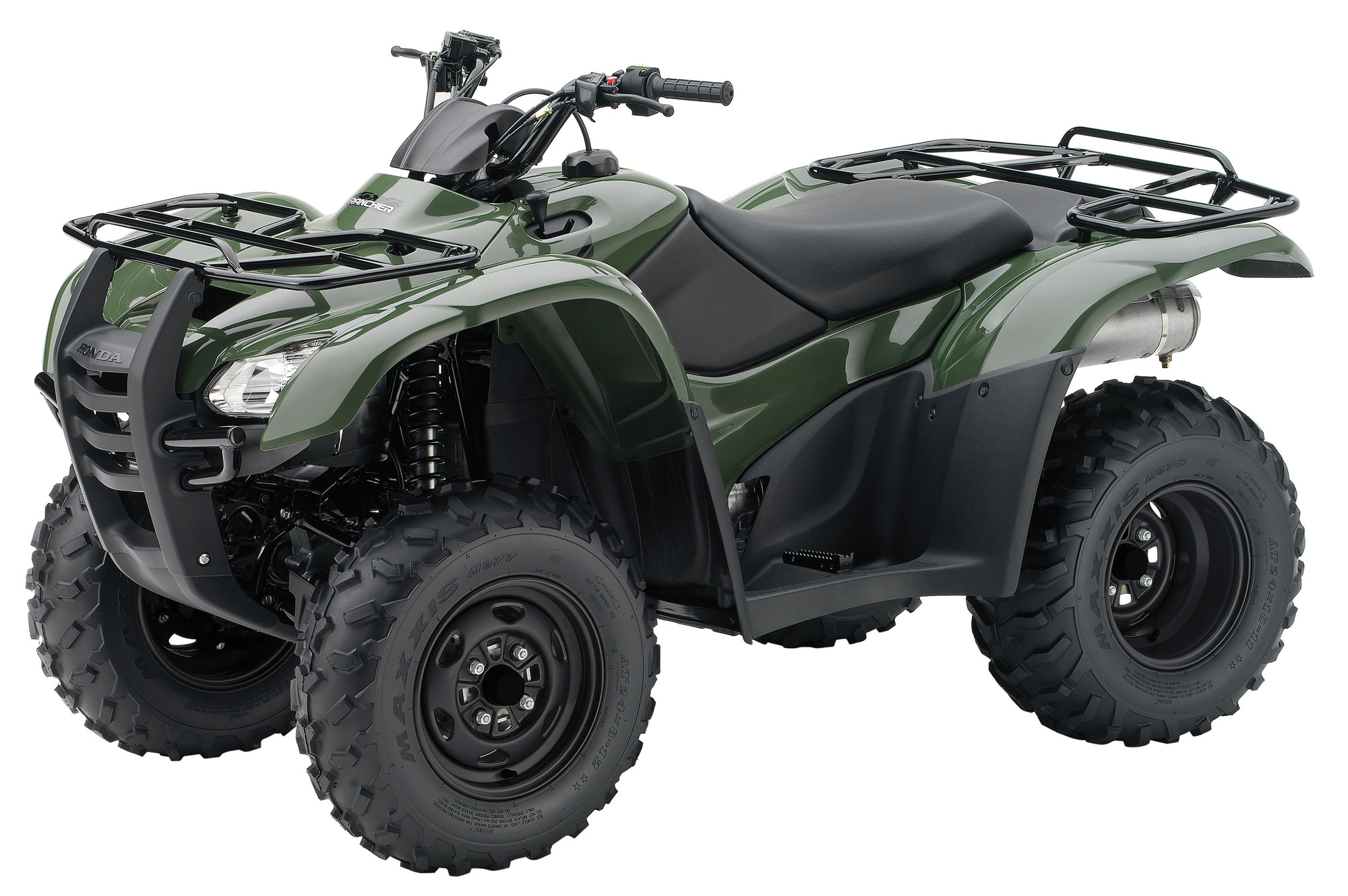 2013 honda fourtrax rancher 4x4 trx420fm review. Black Bedroom Furniture Sets. Home Design Ideas