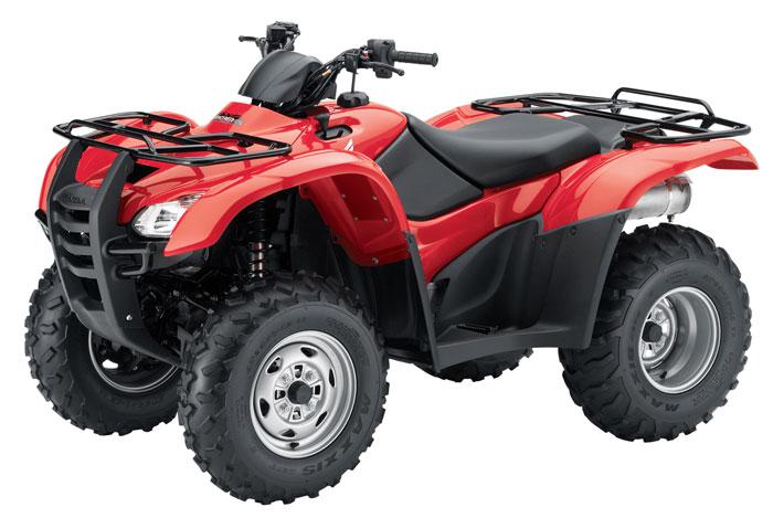 2013 Honda FourTrax Rancher 4x4 ES with Electric Power Steering TRX420FPE