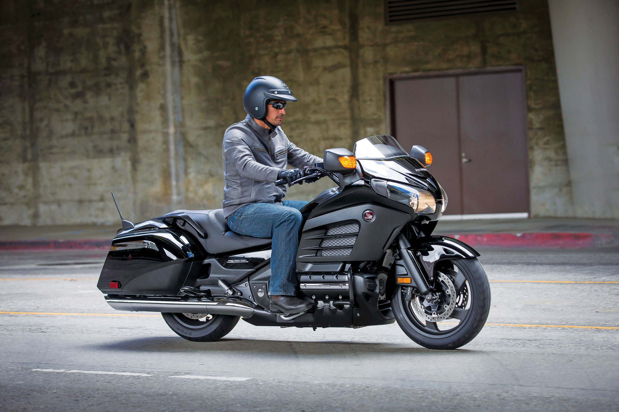 2013 Honda Gold Wing F6B Review