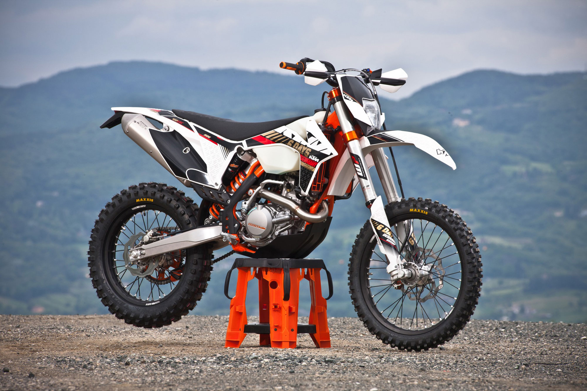 2013 KTM 450EXC Six Days Review