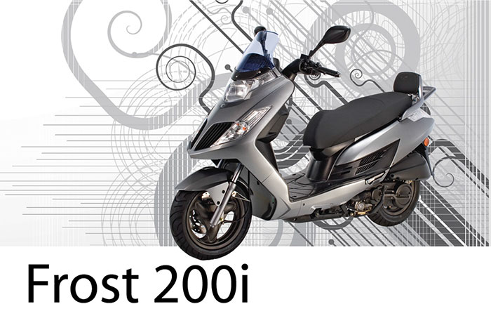 2013 Kymco Frost 200i