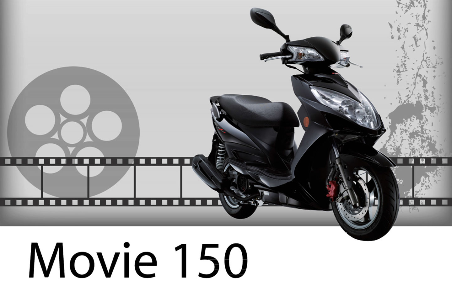 2013 Kymco Movie 150 (New for 2013)