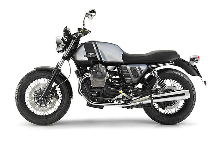 2013 Moto Guzzi V7 Special (Silver/Black, Grigio/Essetre EU version)