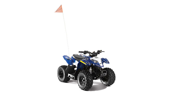 2013 Polaris Outlaw 50 Boardwalk Blue / White