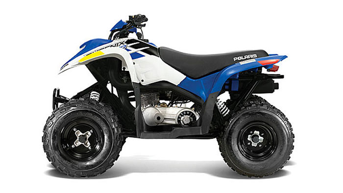 2013 Polaris Phoenix 200 Boardwalk Blue/White