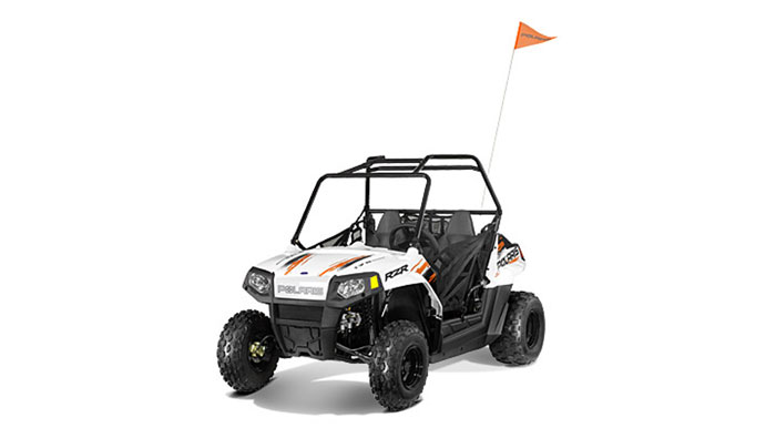 2013 Polaris RZR170 White