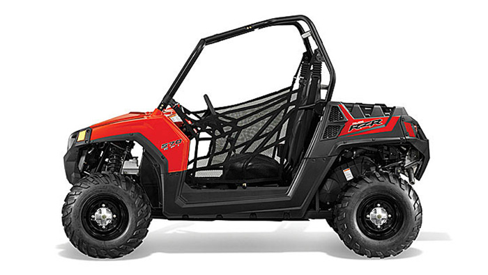 2013 Polaris RZR570 Indy Red