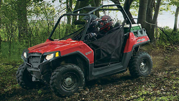 2013 Polaris RZR800 Indy Red
