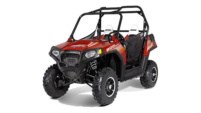 2013 Polaris RZR800 Sunset Red LE