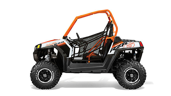 2013 Polaris RZRS 800 Orange / White LE