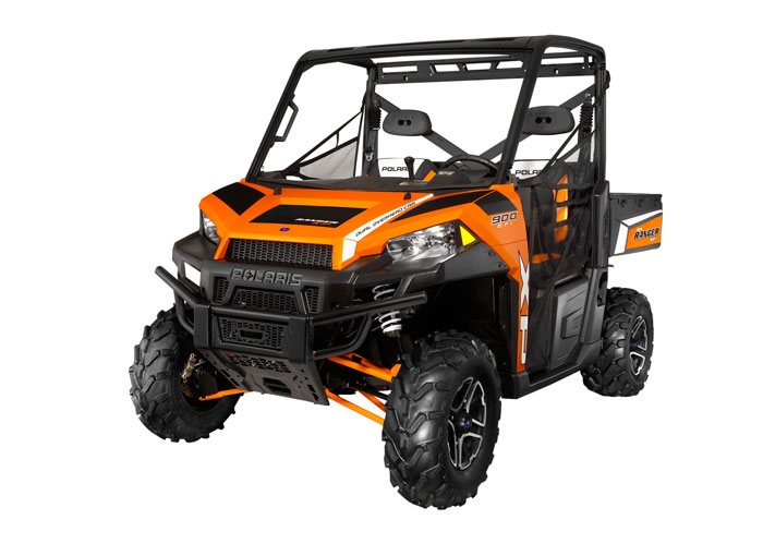 2013 Polaris Ranger XP900 Orange Madness LE